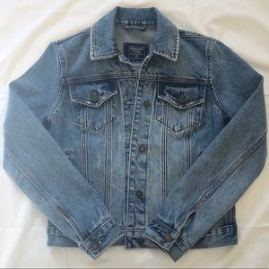 Abercrombie & Fitch Denim Trucker Jacket